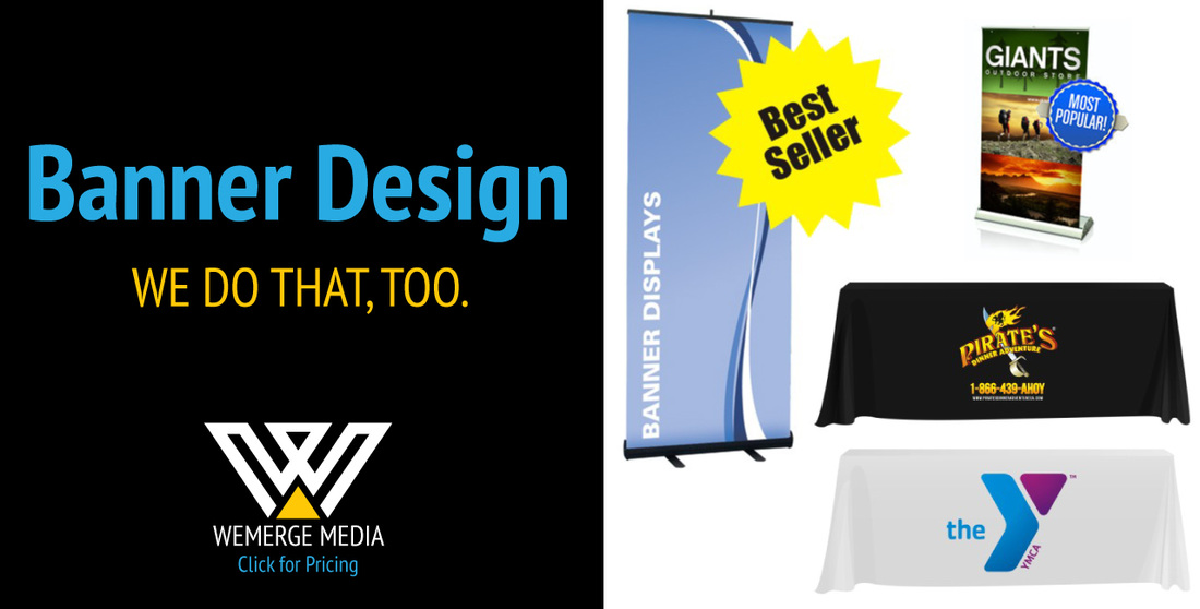 the quickest and easiest event booth ideas wemerge media graphic